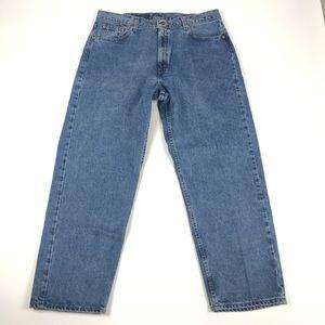 Vintage Levi's 565 Loose Fit Mens Blue Jeans